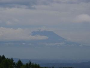 2013年6月22日10時撮影の富士山