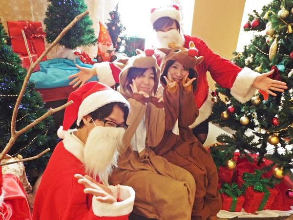 【八ヶ岳】★クリスマス衣装で記念写真★